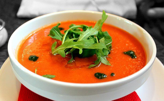 Super Healthy Gazpacho Soup